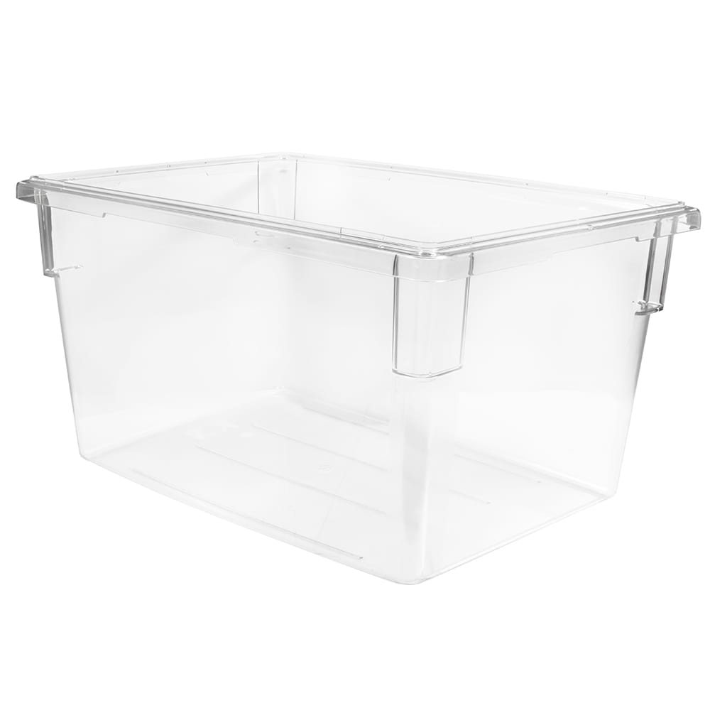 Cambro 182615CW135 Camwear® Food Storage Container w/ 22-gal Capacity, Polycarbonate, Clear