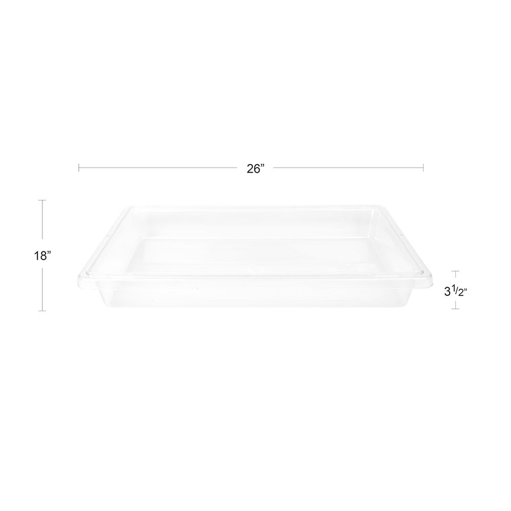 Cambro 18263CW135 5-gal Camwear Food Storage Container - Clear