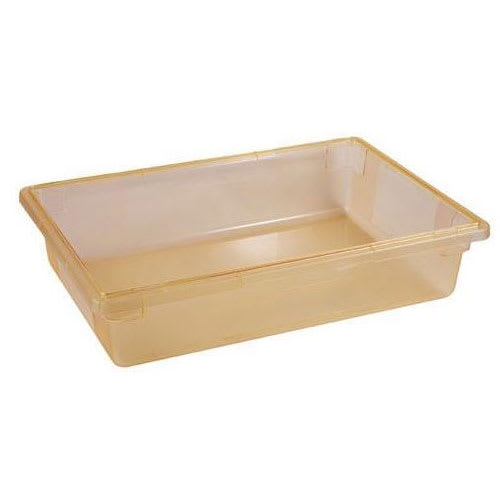 "Cambro 18266CW464 8.75 gal Camwear® Food Pan - 6""D, Yellow"