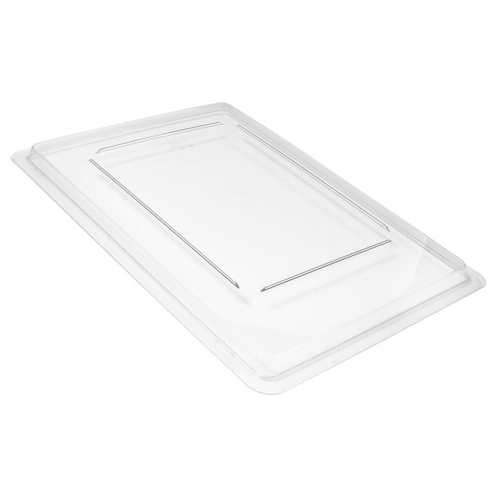 Cambro 1826CCW135 Camwear Food Storage Cover - Flat, Full Size, Clear