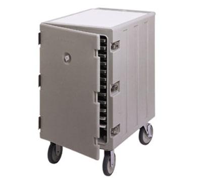 Cambro 1826LTC180 Double Camcart Sheet Pan/Tray Cart - Cutting Board, Gray