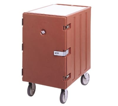 Cambro 1826LTCSP180 Camcart Sheet Pan/Tray Cart - Security Package, Gray