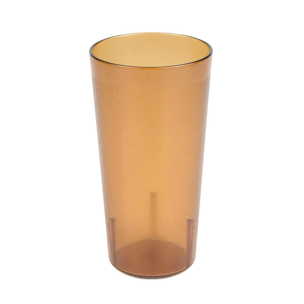 Cambro 2000P2153 20-oz Colorware Tumbler, Amber