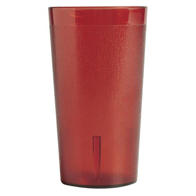 Cambro 2000PSW12156 Colorware Tumbler, SAN, 20 oz., Ruby Red