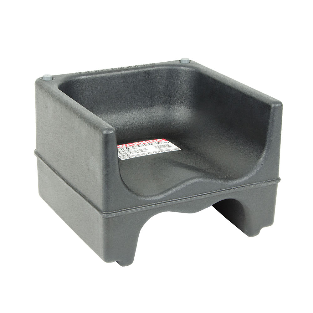 Cambro 200bc110 Dual Height Booster Seat Polyethylene Black