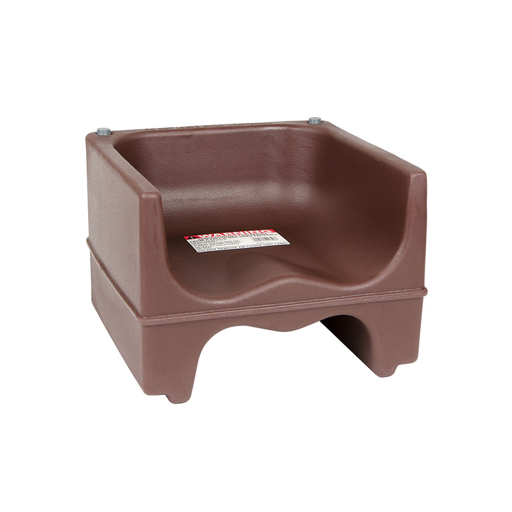 Cambro 200BC-131 Dual-Height Booster Seat - Polyethylene, Dark Brown