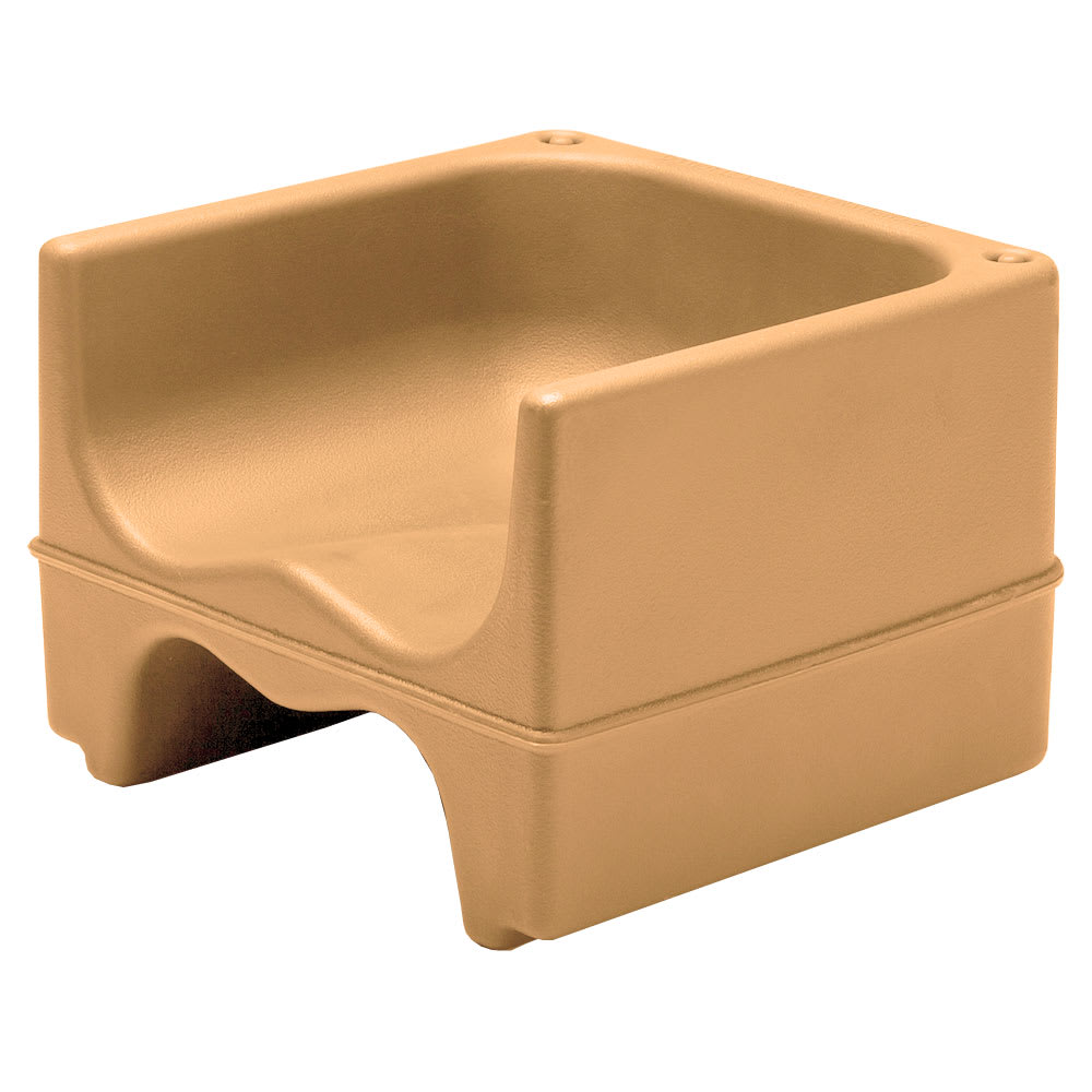 Cambro 200BC157 Dual-Height Booster Seat - Polyethylene, Coffee Beige