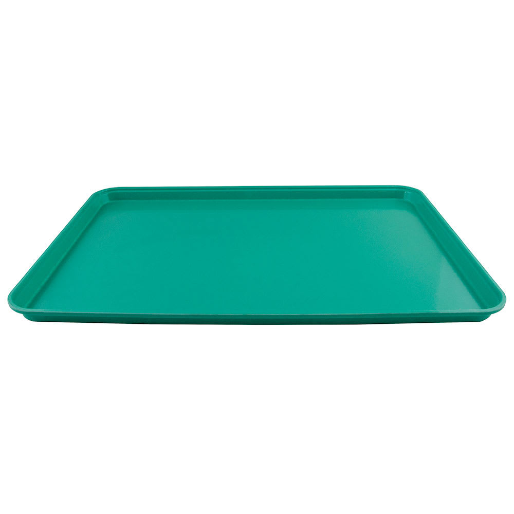 "Cambro 2025414 Rectangular Camtray - 20-3/4x25-9/16"" Teal"