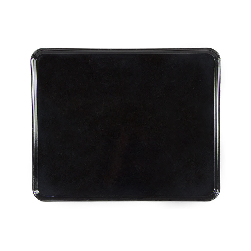 "Cambro 2025MT110 Rectangular Market Display Tray - 20-3/4x25-9/16x13/16"" Black"