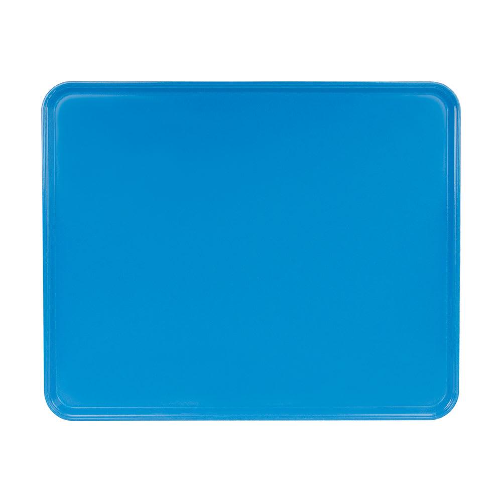 "Cambro 2025MT142 Rectangular Market Display Tray - 20 3/4x25 9/16x13/16"" Blue"