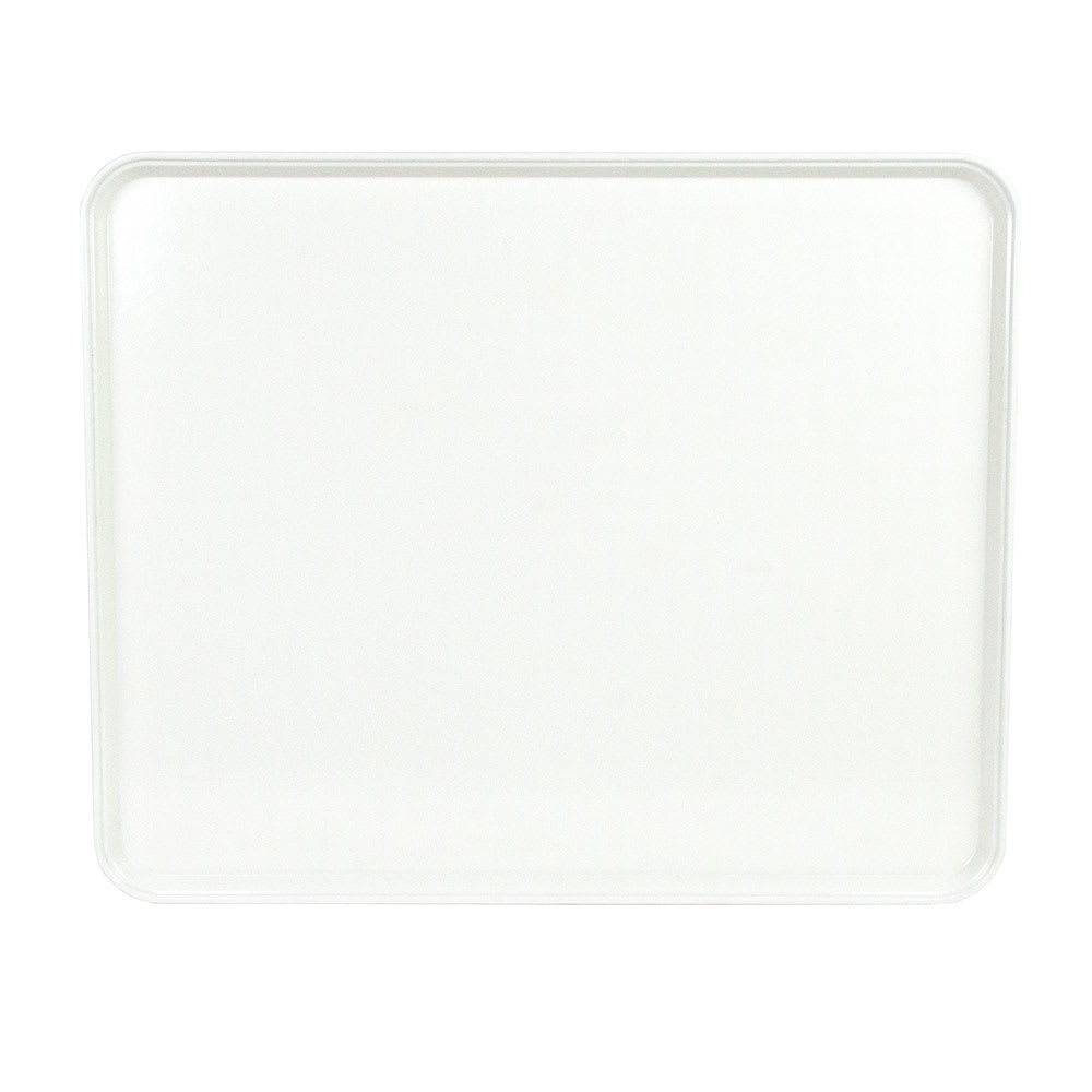"Cambro 2025MT148 Rectangular Market Display Tray - 20 3/4x25 9/16x13/16"" White"
