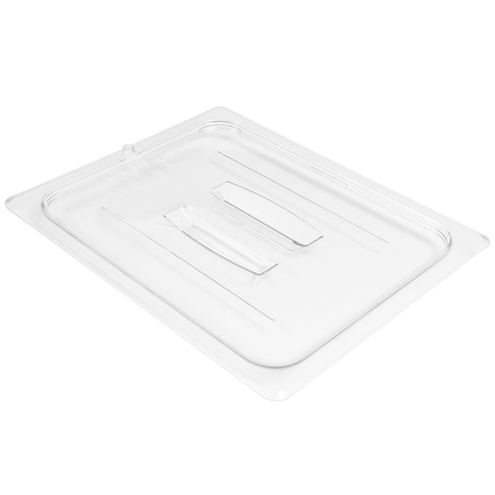 Cambro 20CWCH135 1/2 Size Food Pan Cover w/ Handle, Polycarbonate, Clear