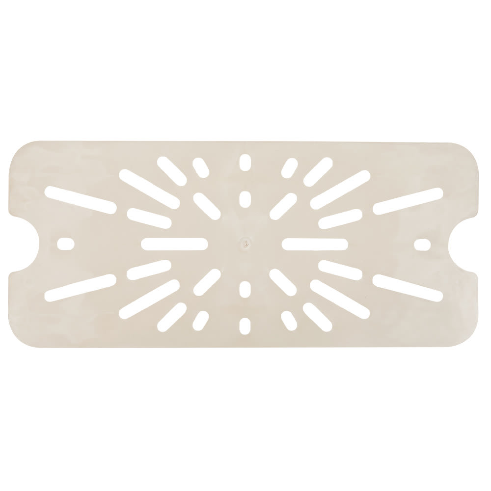 Cambro 20HPD772 X-Pan Hot Food Pan Drain Shelf - Half Size, Non-Stick, Sandstone