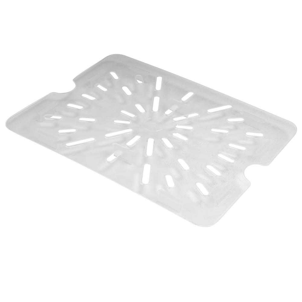 Cambro 20PPD190 Food Pan Drain Shelf - Half Size, Translucent