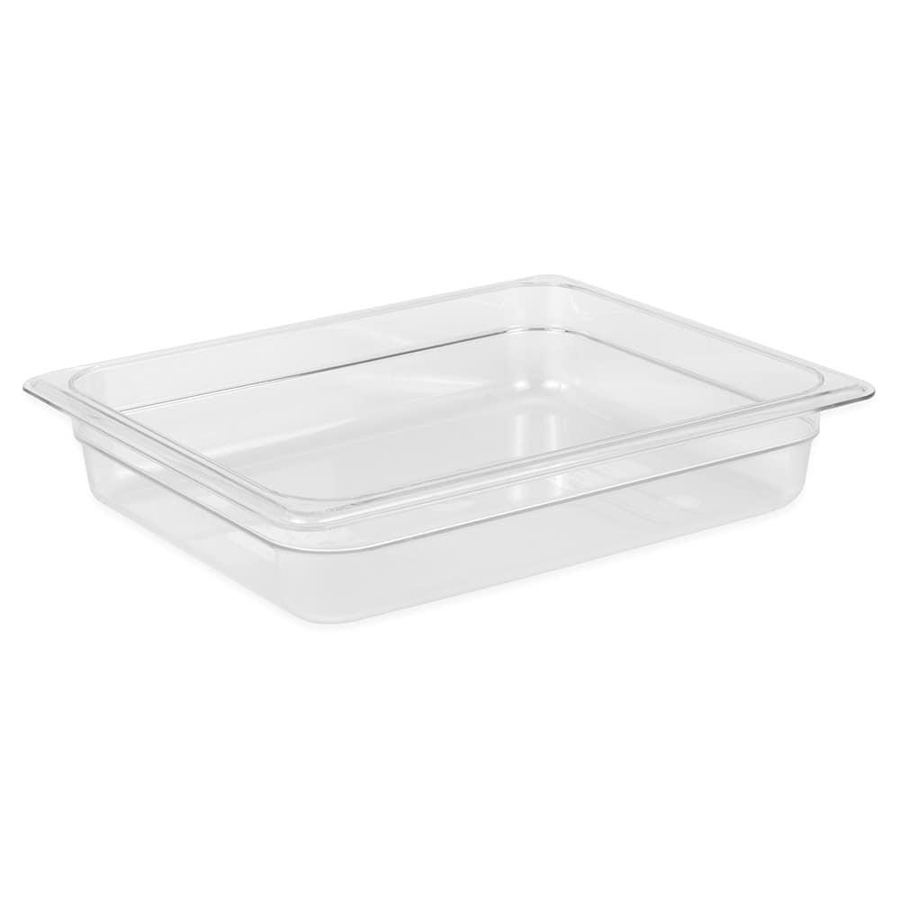 "Cambro 22CW135 Camwear Food Pan - Half Size, 2 1/2""D Clear"