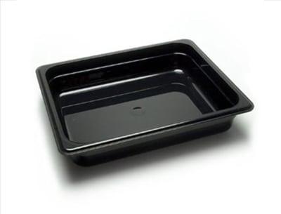 "Cambro 22CW148 Camwear Food Pan - Half Size, 2-1/2""D White"