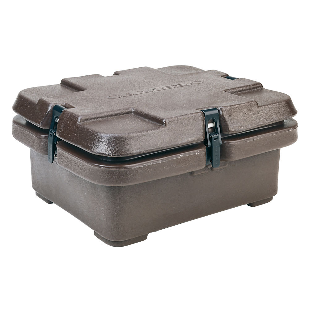 Cambro 240MPC131 Camcarrier® Insulated Food Carrier - 6.3 qt w/ (1) Pan Capacity, Brown
