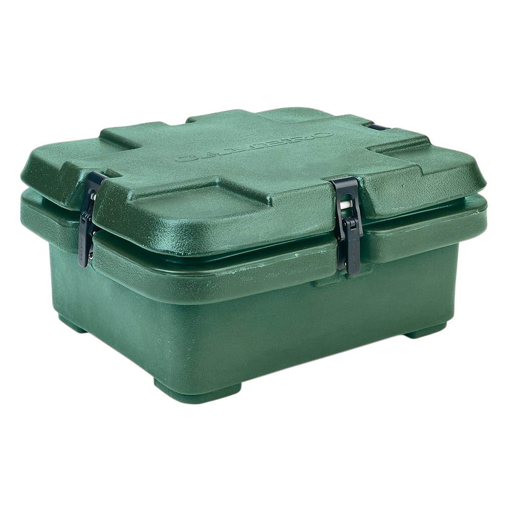 Cambro 240MPC519 Camcarrier Food Pan Carrier - (1)Half Size Pan, Green