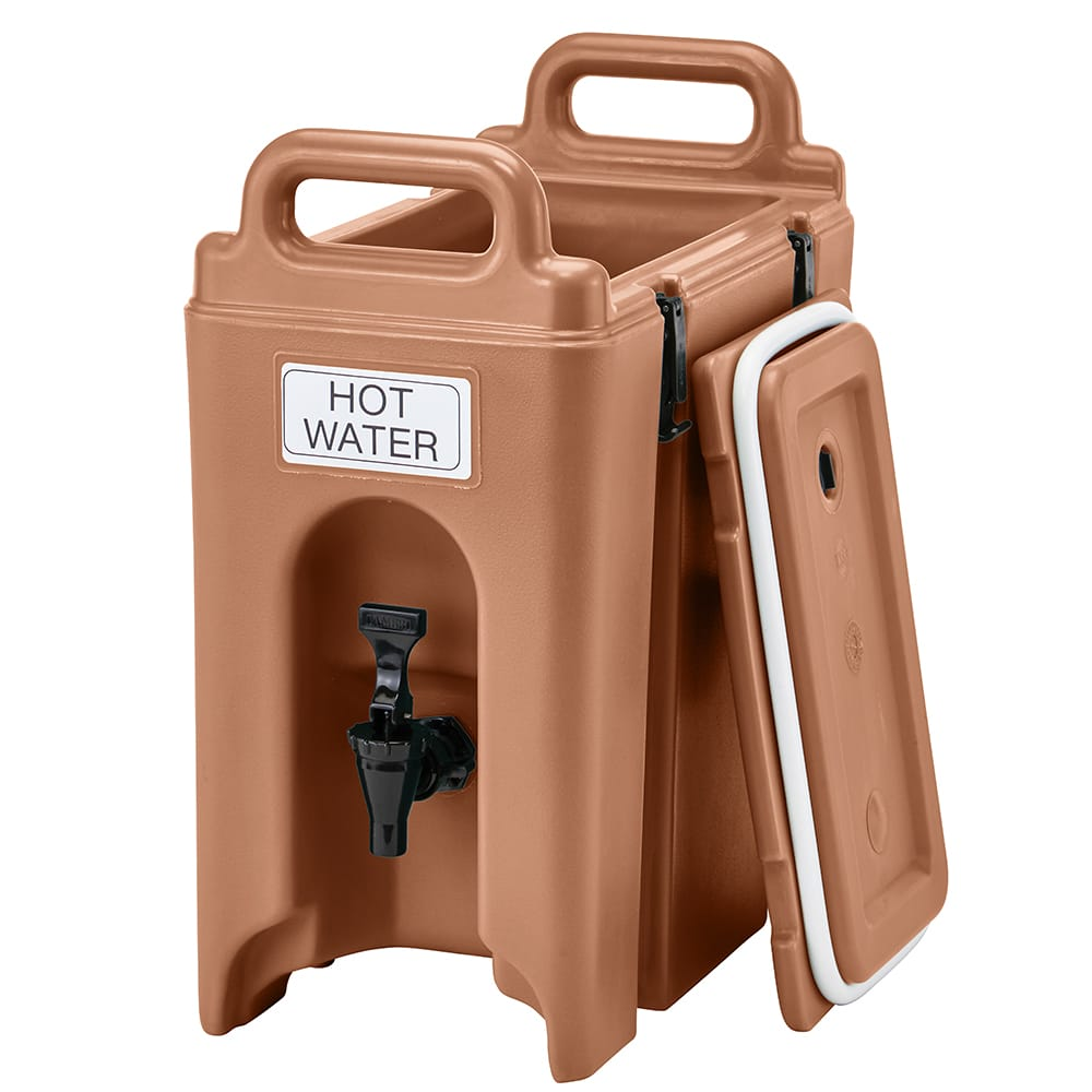 Cambro 250LCD157 2.5 Camtainer® Insulated Beverage Dispenser, Coffee Beige