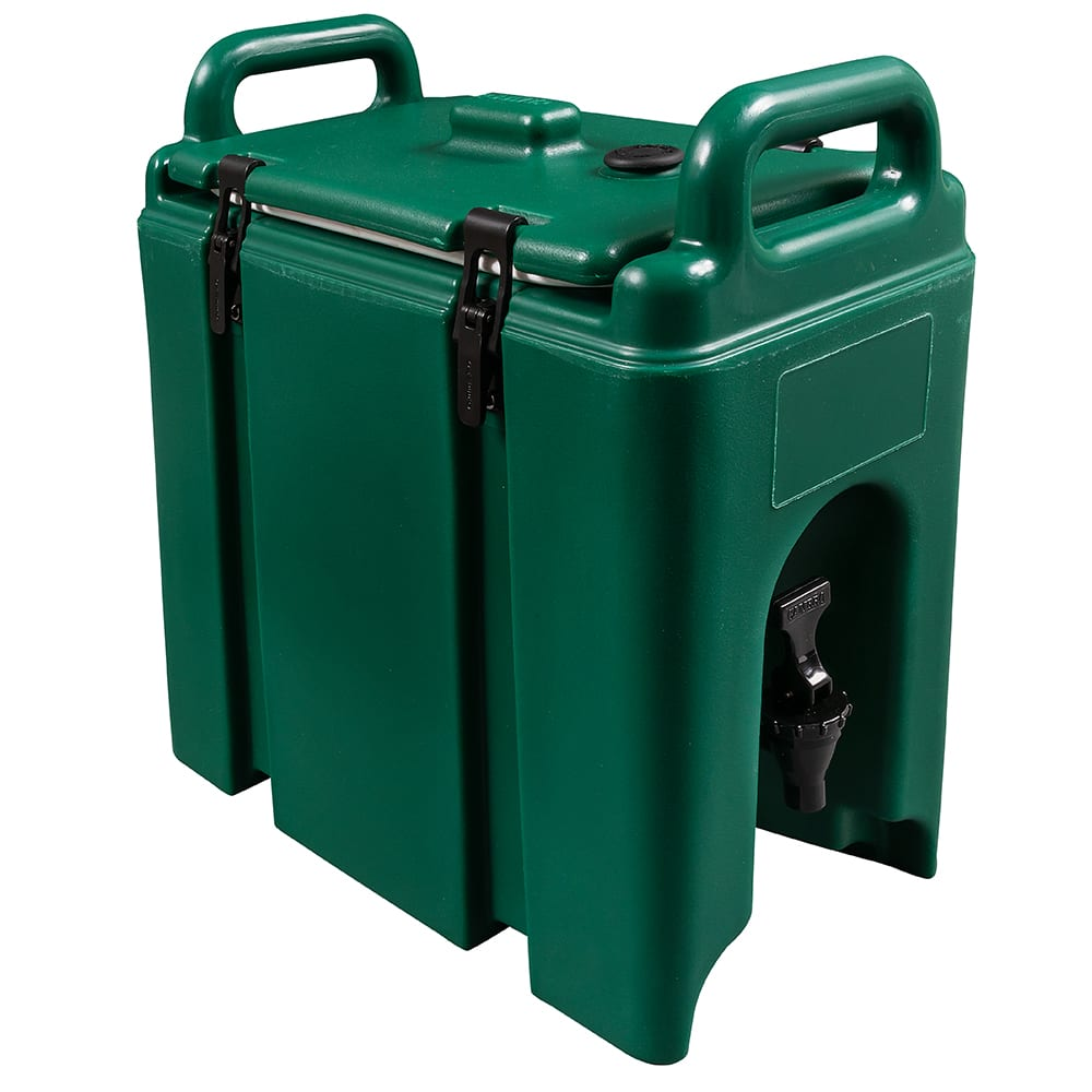 Cambro 250LCD519 2 1/2 gal Camtainer Beverage Carrier - Insulated, Green