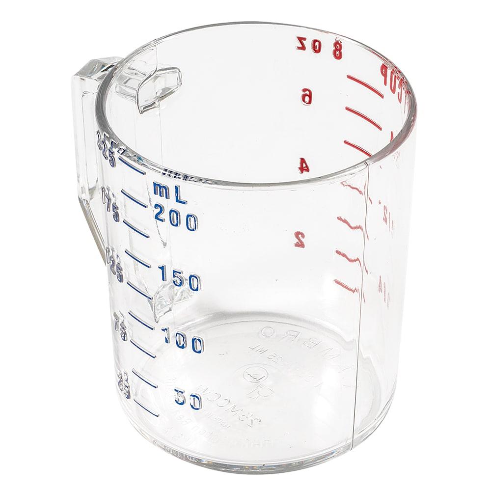 Cambro 25MCCW135 1 cup Camwear Measuring Cup - Clear