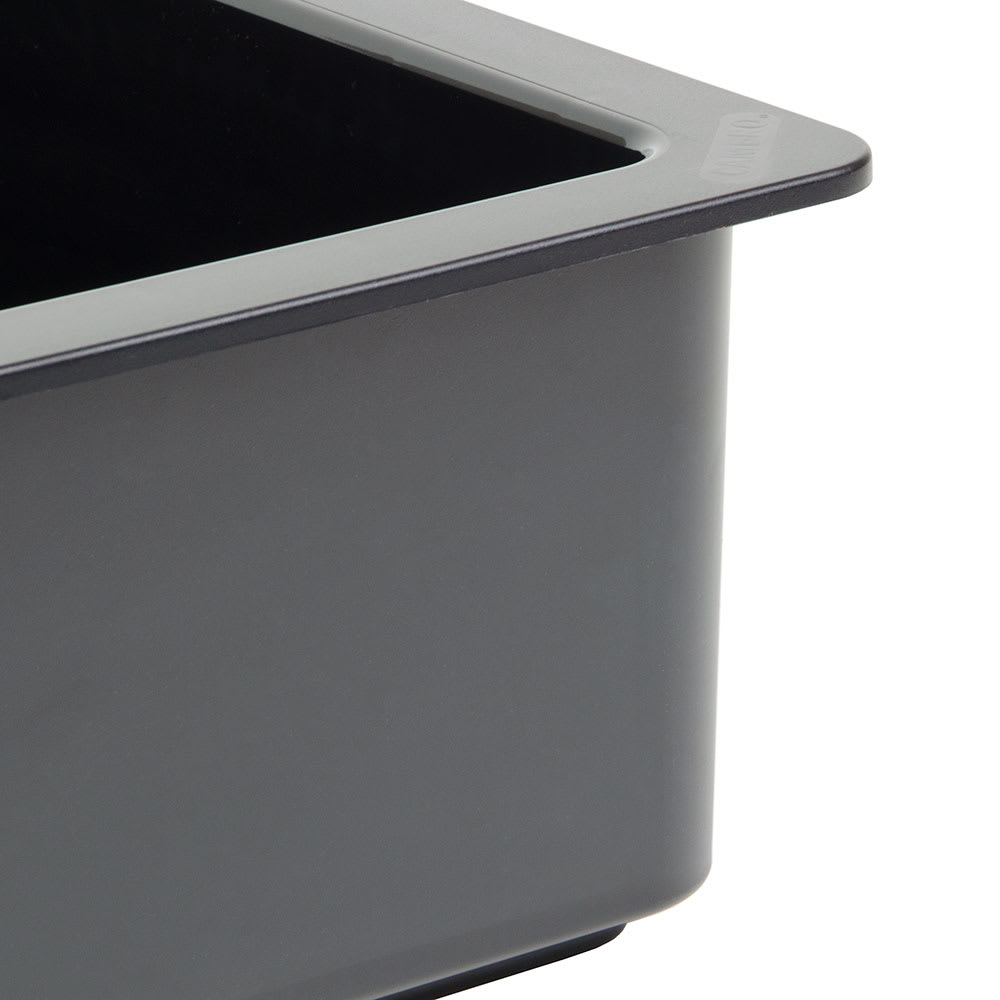 "Cambro 26CF110 ColdFest Food Pan - Half Size, 6""D, Black"