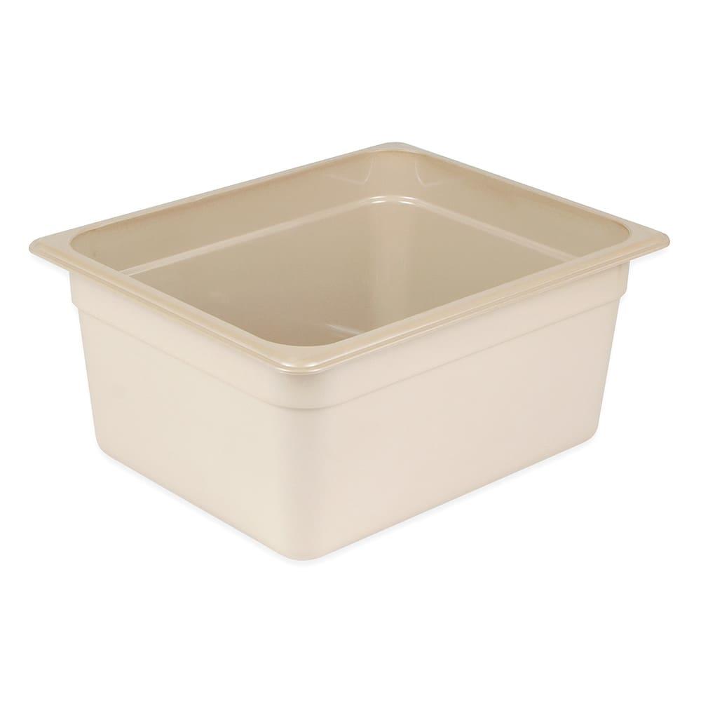 "Cambro 26HP772 X-Pan Hot Food Pan - Half Size, Non-Stick, 6""D, Sandstone"
