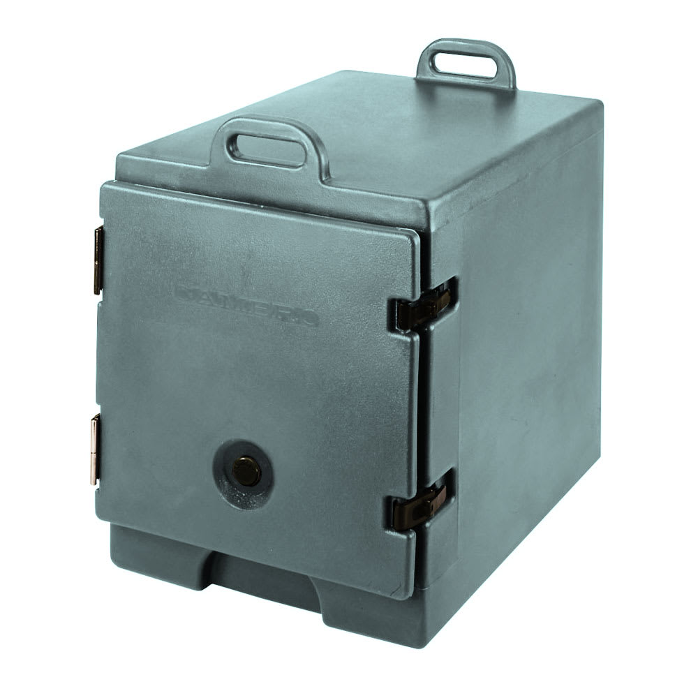 "Cambro 300MPC401 Camcarrier Food Pan Carrier - 12x20"" Pan, Front-Loading, Slate Blue"