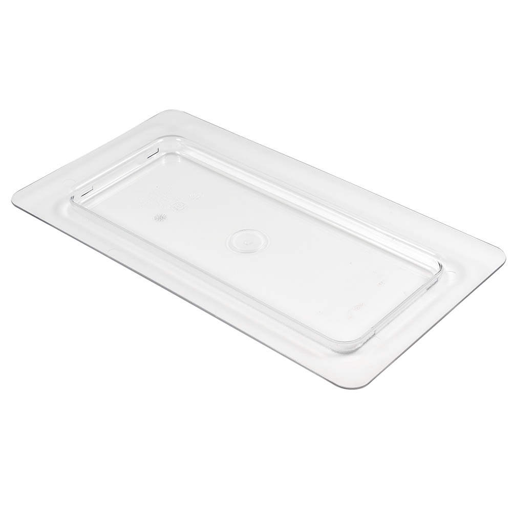 Cambro 30CFC135 ColdFest Food Pan Cover - 1/3 Size, Flat, Clear