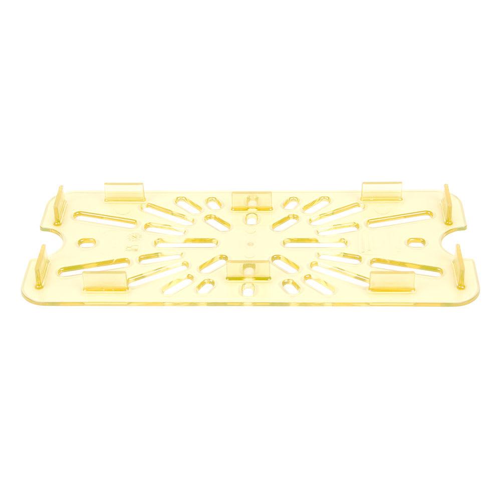 Cambro 30HPD150 H-Pan Drain Shelf - 1/3 Size, Amber