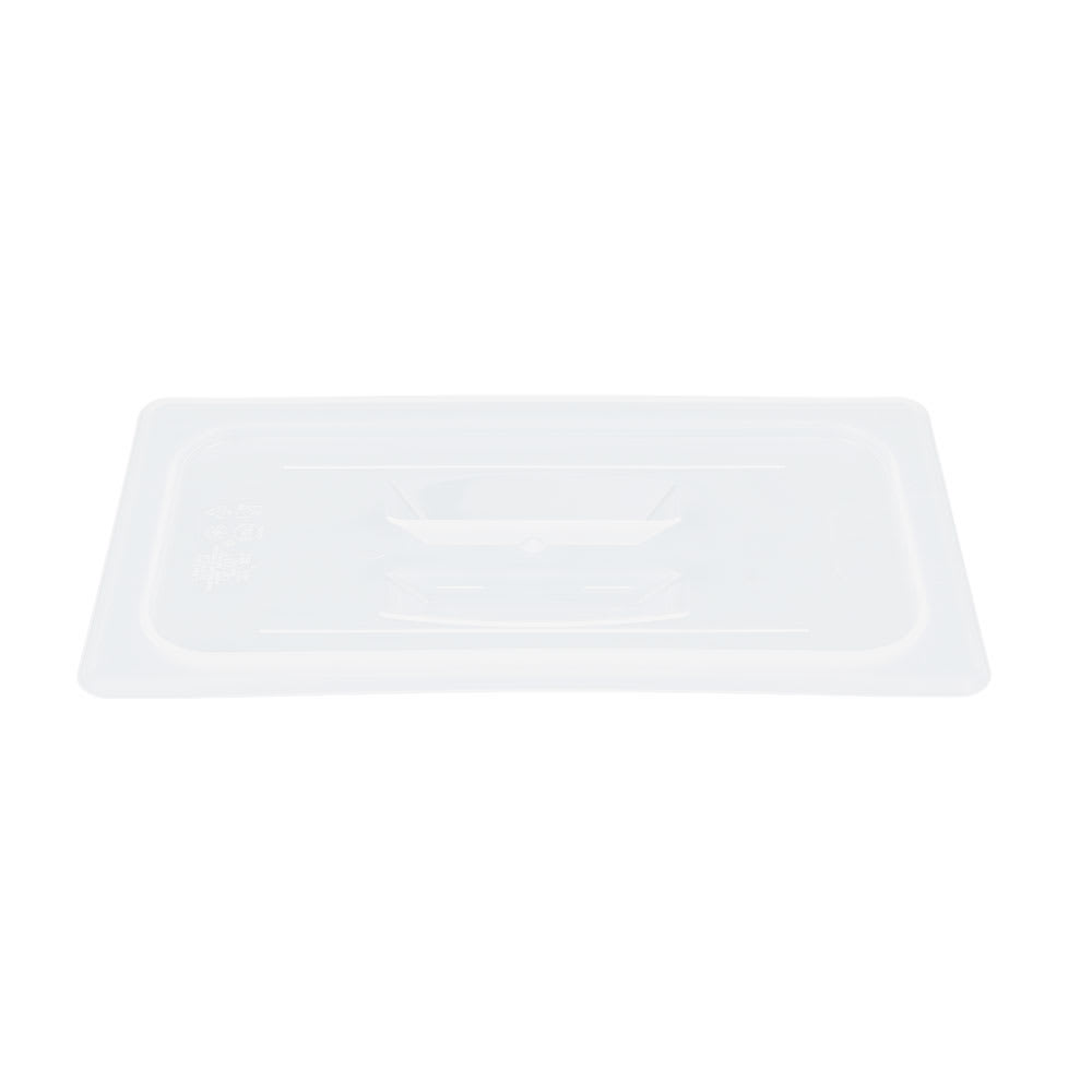 Cambro 30PPCH190 1/3 Size Food Pan Cover w/ Handle, Polypropylene, Translucent