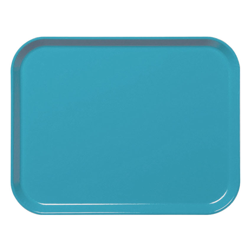 "Cambro 3253CL162 Rectangular Camlite Tray - 12-3/4x21"" Green"