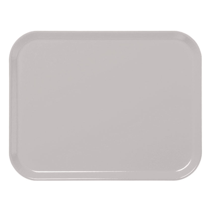 "Cambro 3253CL676 Rectangular Camlite Tray - 12-3/4x21"" Steel White"