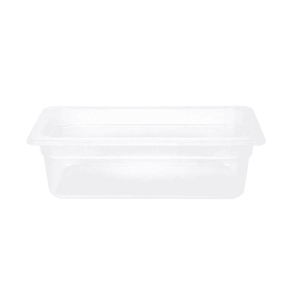 "Cambro 34PP190 Food Pan - 1/3 Size, 4""D, Translucent"