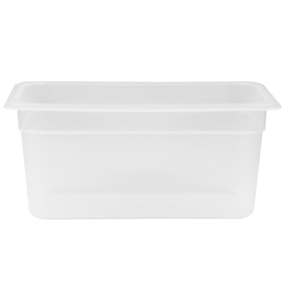 "Cambro 36PP190 Food Pan - 1/3 Size, 6""D, Translucent"