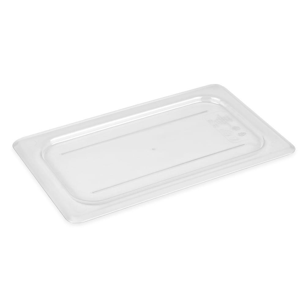 Cambro 40CWC135 Camwear Food Pan Cover - 1/4 Size, Flat, Clear
