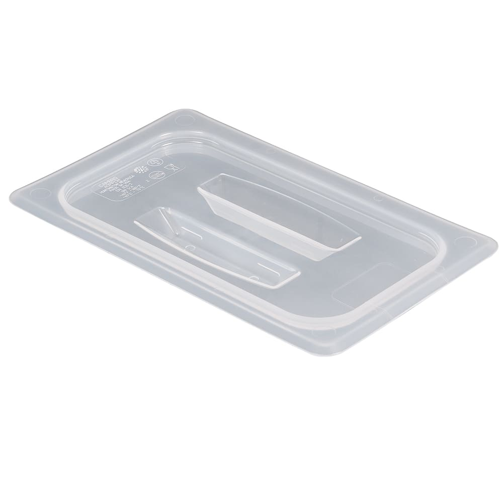 Cambro 40PPCH190 Food Pan Cover with Handle - 1/4 Size, Translucent