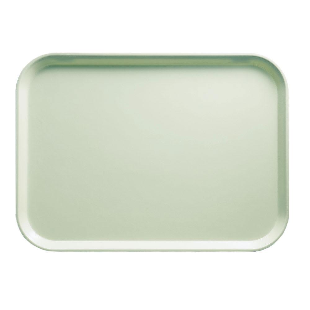 "Cambro 46429 Fiberglass Camtray® Cafeteria Tray - 6""L x 4.25""W, Key Lime"