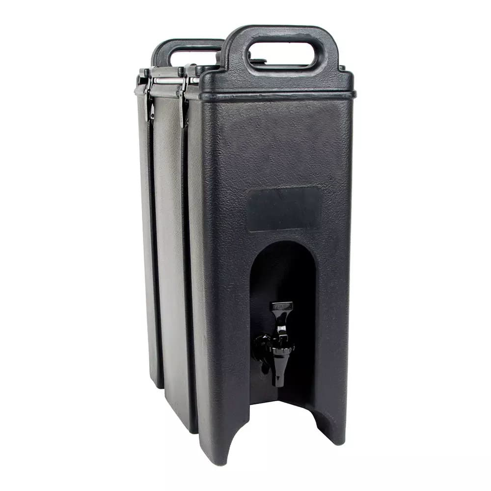 Cambro 500LCD110 5 gal Camtainer Beverage Carrier - Insulated, Black