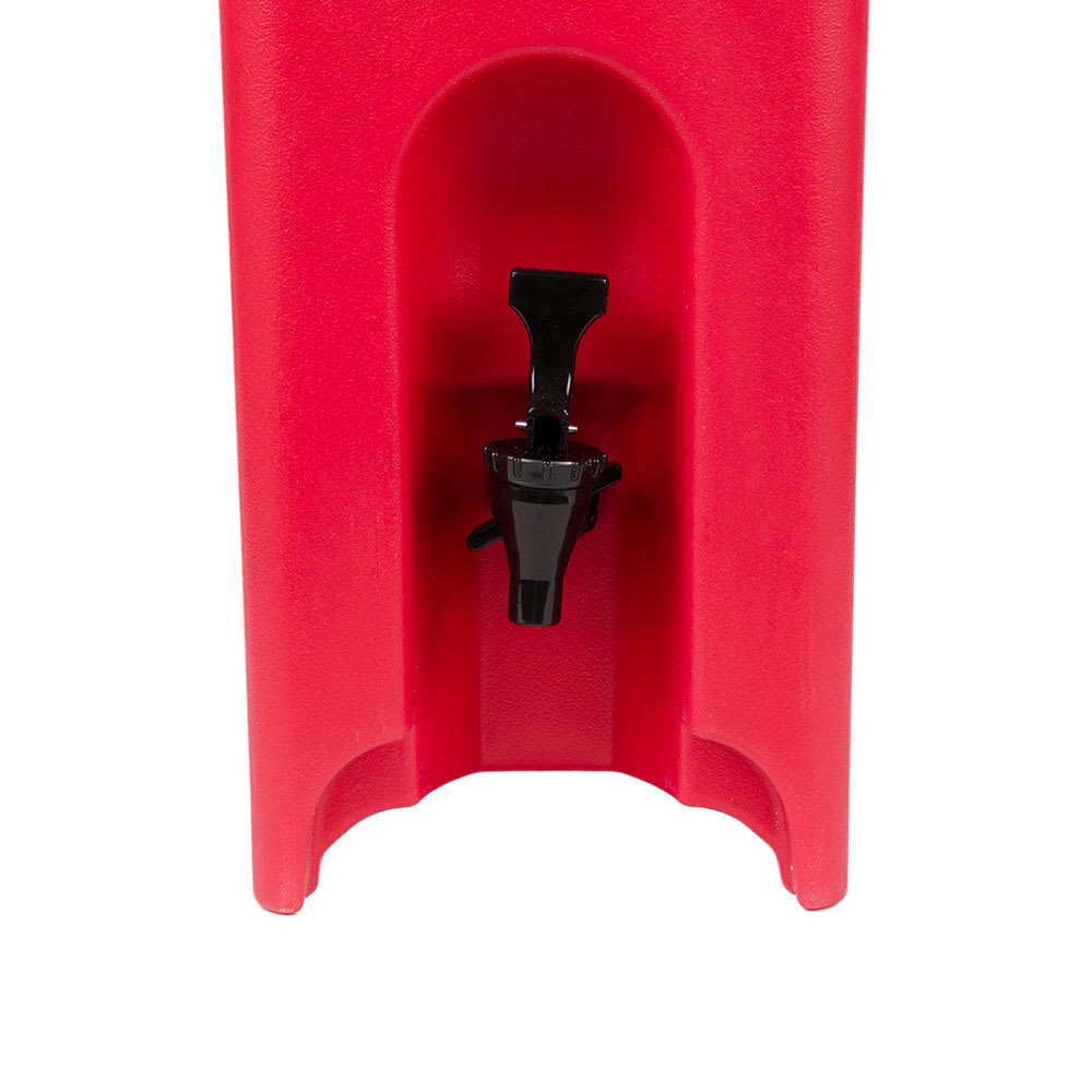Cambro 500LCD158 5 gal Camtainer Beverage Carrier - Insulated, Hot Red