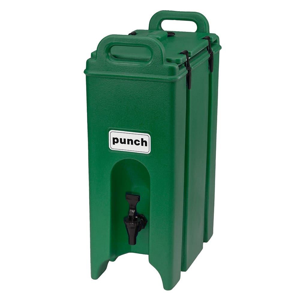 Cambro 500LCD519 5 gal Camtainer Beverage Carrier - Insulated, Green