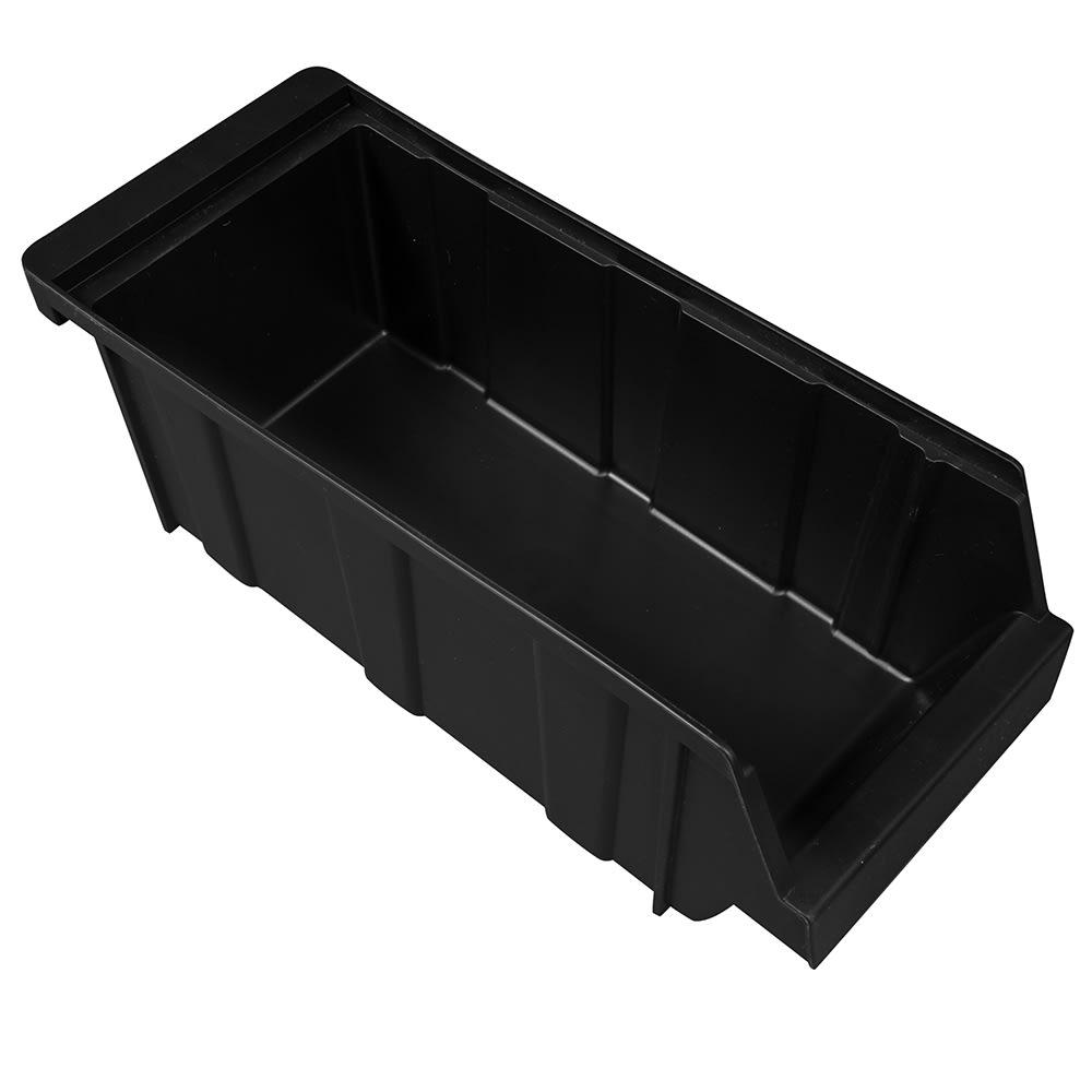 "Cambro 5412CBP110 Organizer Bin - 5x12x4-1/4"" Black"