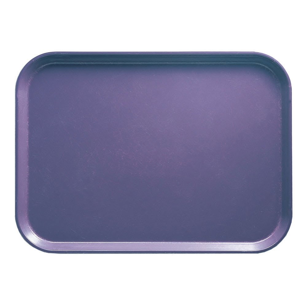 "Cambro 57551 Fiberglass Camtray® Cafeteria Tray - 6.9""L x 4.9""W, Grape"