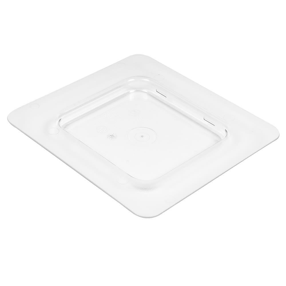 Cambro 60CFC135 ColdFest Food Pan Cover - 1/6 Size, Flat, Clear
