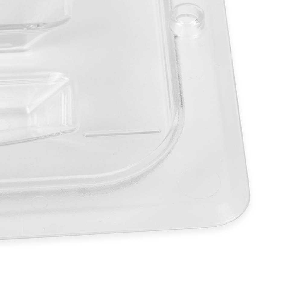 Cambro 60CWCH135 Camwear® 1/6-Size Food Pan Cover w/ Handle, Polycarbonate, Clear