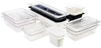 Cambro 60SC148 Seal Cover, 1/6 Size, 6-3/8 in x 6-15/16 in, White