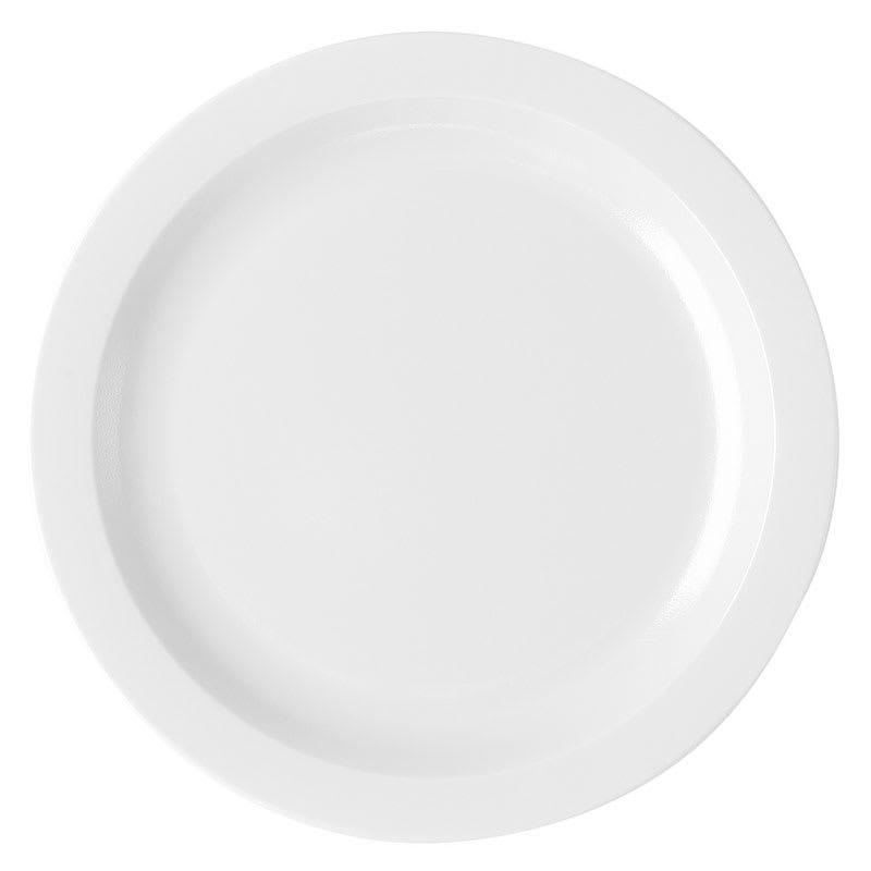 "Cambro 65CWNR148 6 9/16"" Camwear Plate - White"