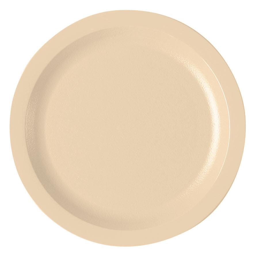"Cambro 725CWNR133 7 1/4"" Camwear Plate - Beige"
