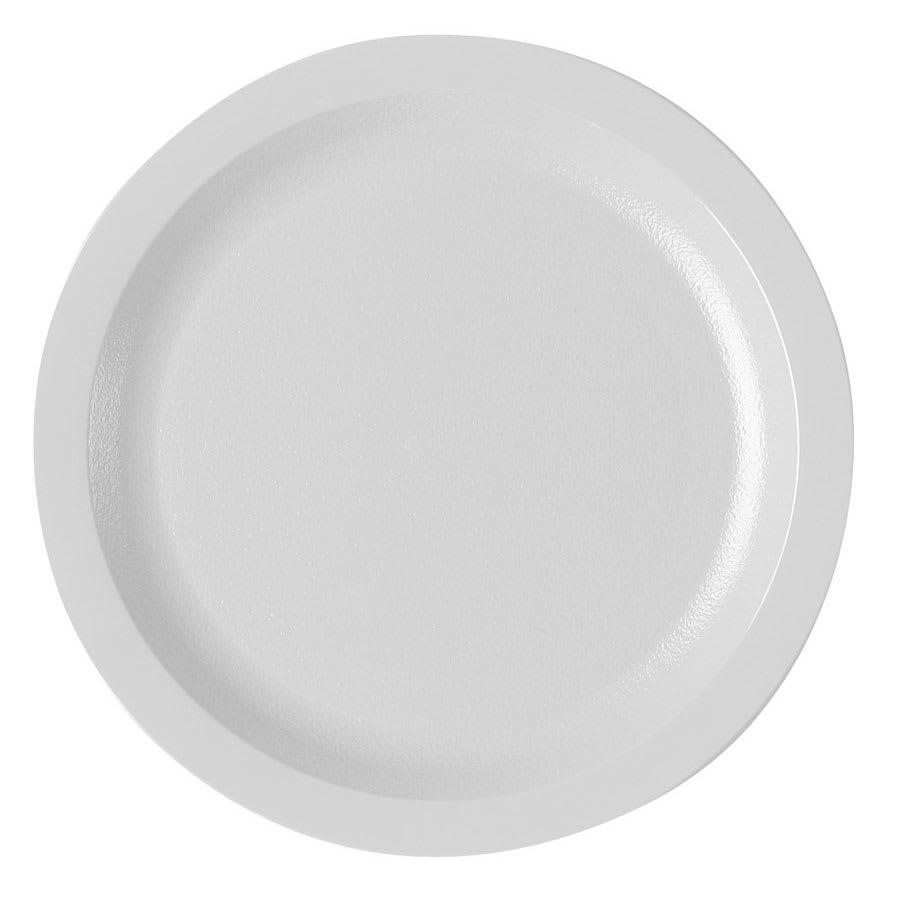 "Cambro 725CWNR148 7-1/4"" Camwear Plate - White"