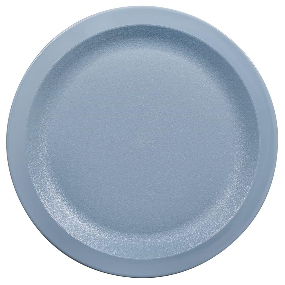 "Cambro 725CWNR401 7 1/4"" Camwear Plate - Slate Blue"